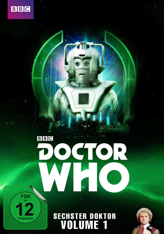 doctor who sechster doktor volume 1 dvd cover