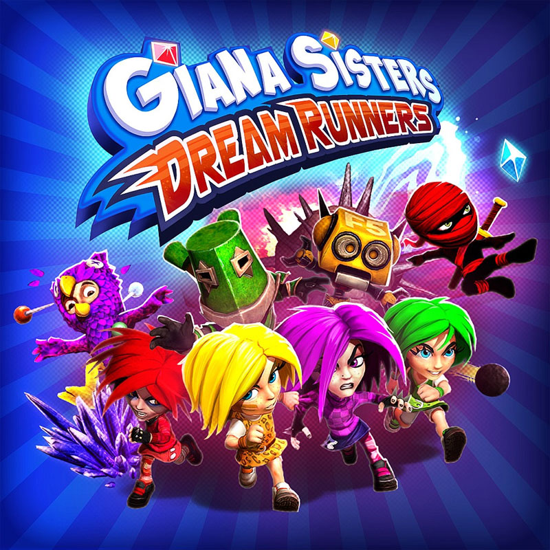 giana sisters dream runners pc xbox one ps4 cover