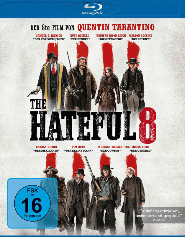 the hateful 8 blu-ray cover