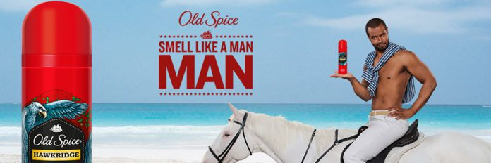 old spice smell like a man