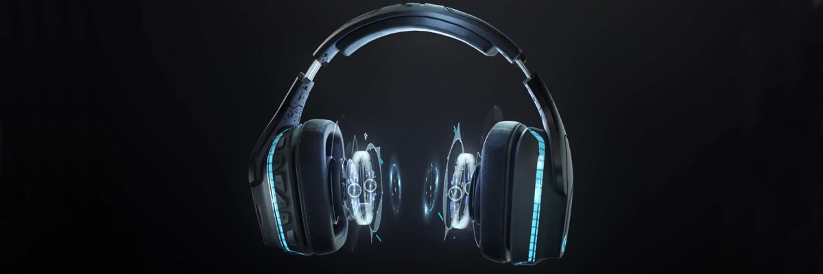 logitech g935 gaming headset 7.1 surround sound