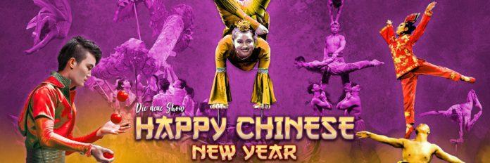 chinesischer nationalcircus happy chinese new year
